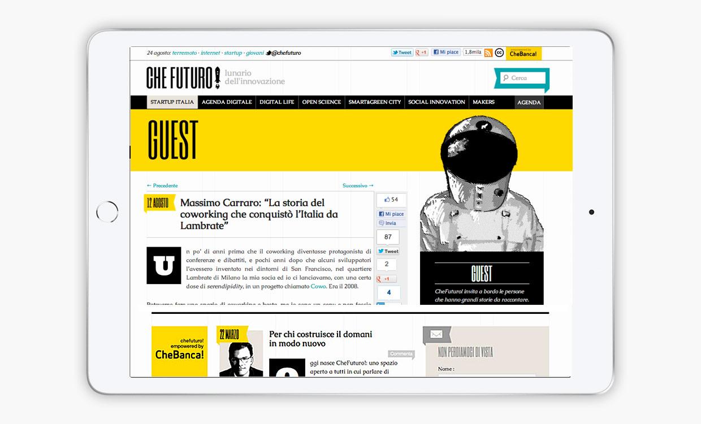 CheFuturo! Pagina web