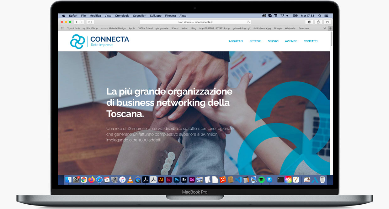 Connecta landing page