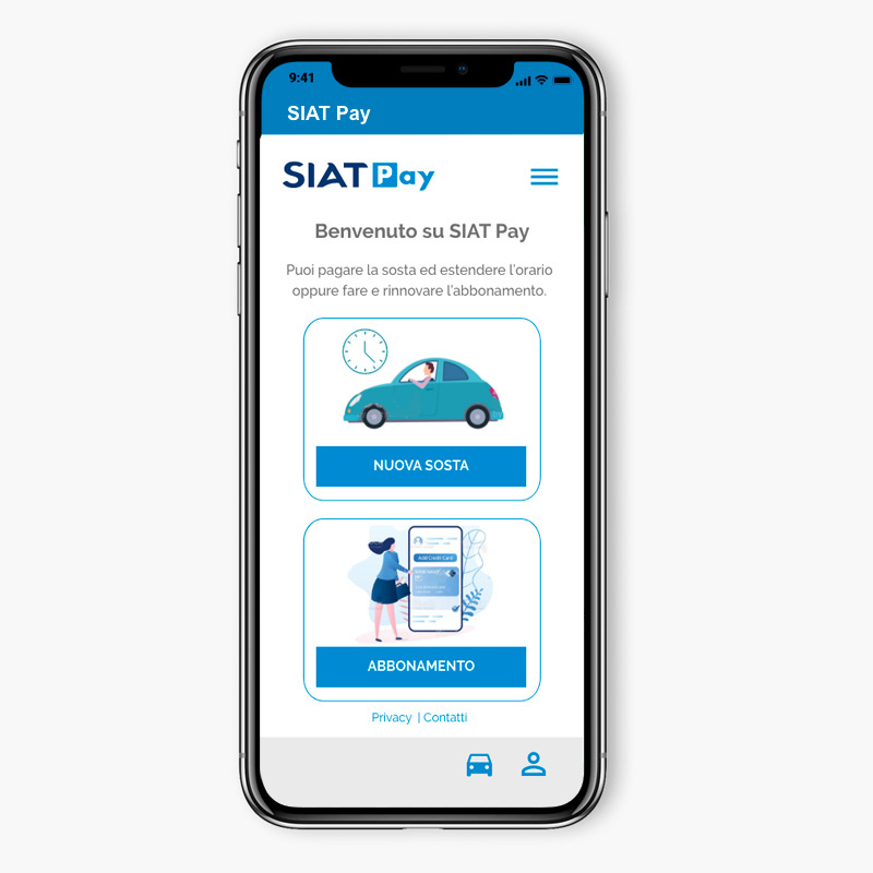 SIAT Pay app home